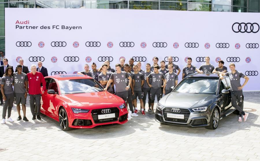Bayern Monachium i nowe Audi