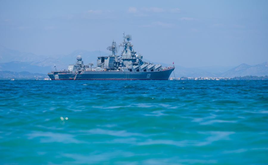 Rosyjski krążownik rakietowy