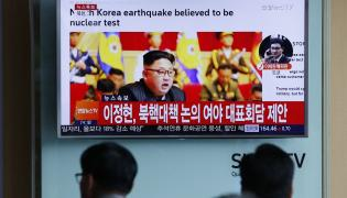 Koreańsa próba atomowa
