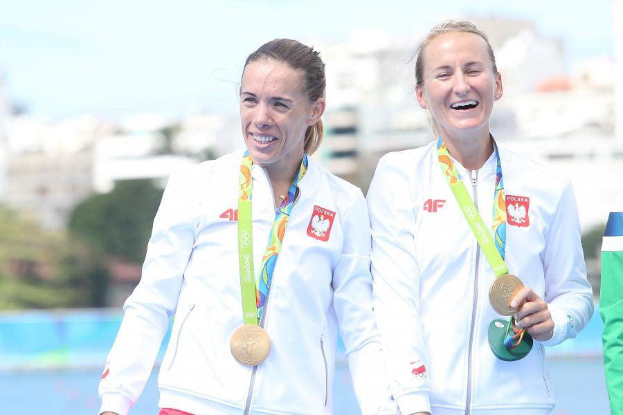 Magdalena Kozłowska Fularczyk i Natalia Madej