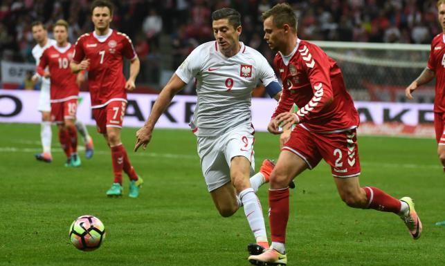 Po hat-tricku Lewandowskiego było 3:0, a skończyło się na 3:2. Polacy pokonali Danię