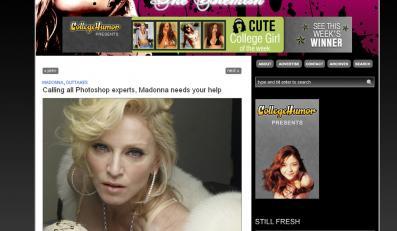 Do internetu wyciekły zdjęcia Madonny bez retuszu