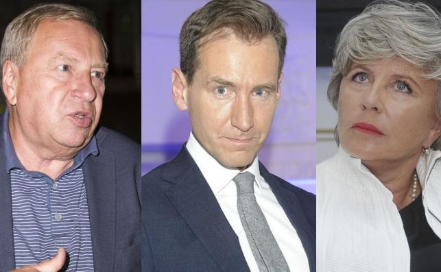 Jerzy Stuhr, Piotr Kraśko, Krystyna Janda