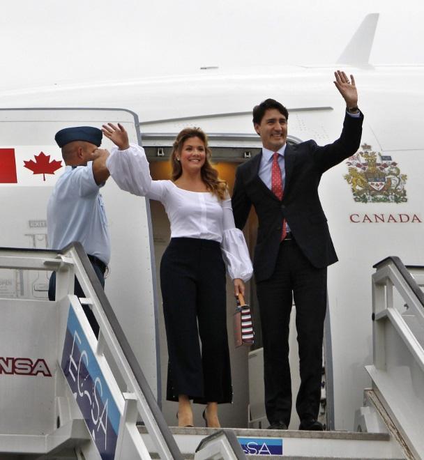 Małżonka premiera Kanady w stylizacji rodem z \