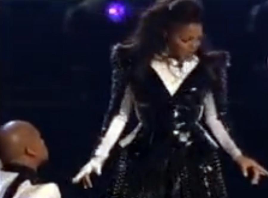 Janet Jackson zatańczyła w hołdzie bratu