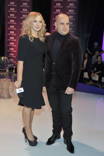 Marzena Rogalska i Cezary Żak