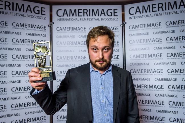 Kacper Fertacz z nagrodą za film \