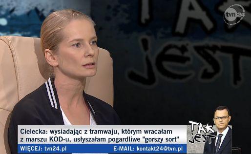 Magdalena Cielecka w programie \