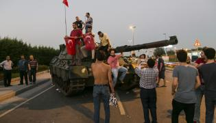 Zwolennicy Erdogana