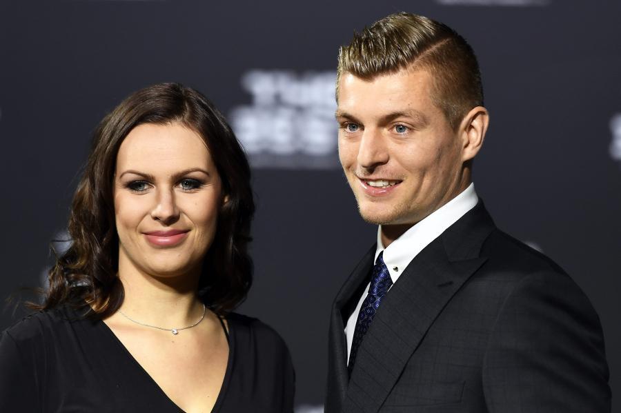 Toni Kroos i jego żona, Jessica Farber