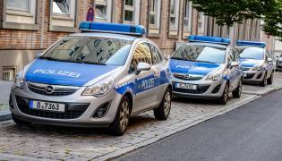 Niemiecka policja. Radiowozy w Berlinie