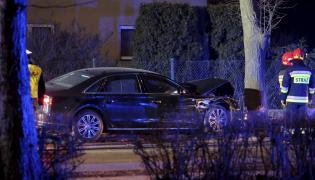 Rozbite auto wiozące premier Beatę Szydło
