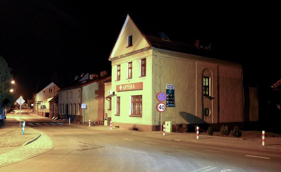 Miejsce porwania w centrum Golczewa