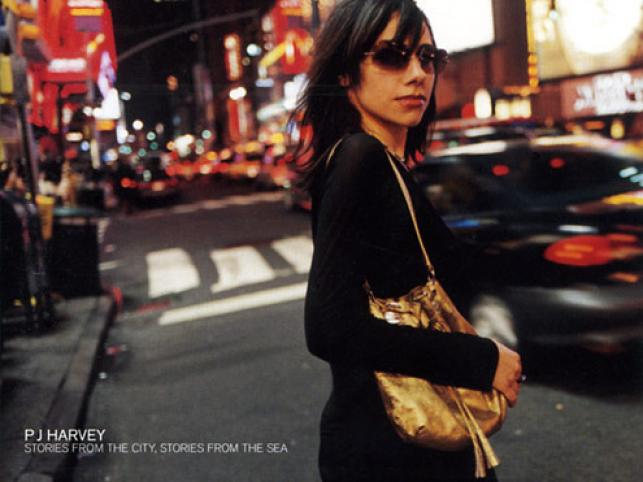 PJ Harvey z płytą \
