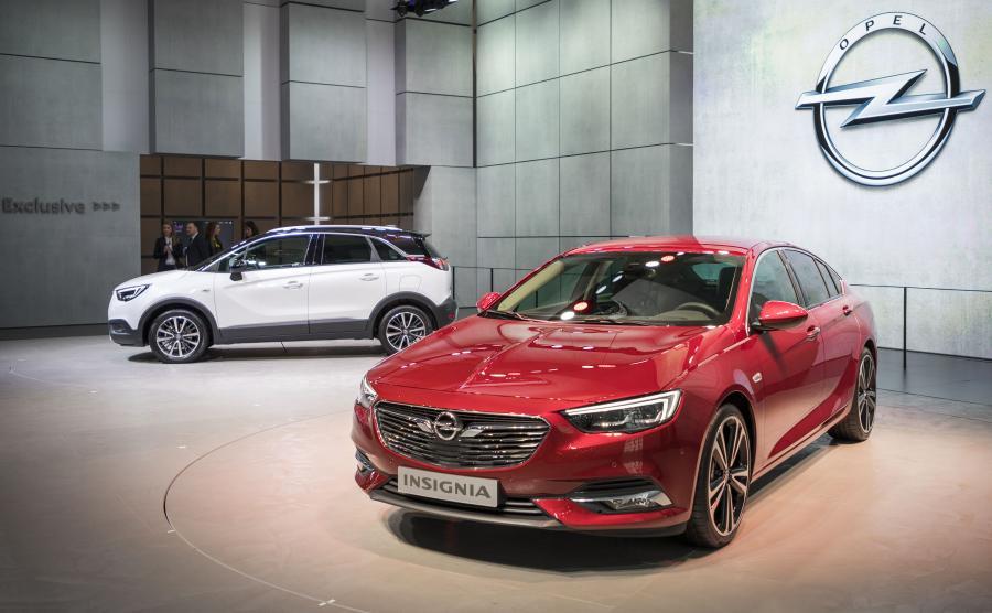 Opel crossland X i insignia grand sport