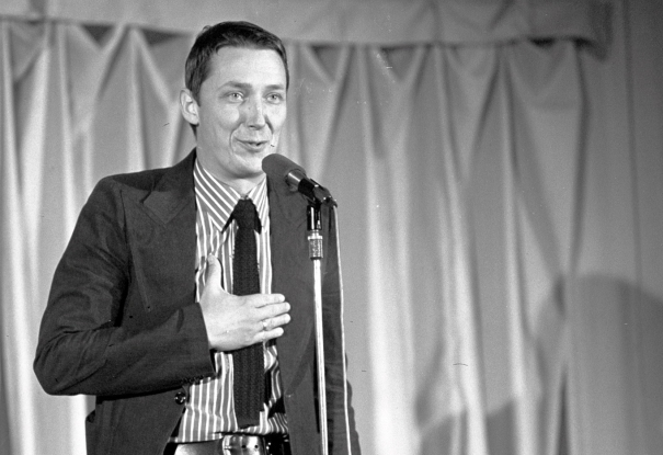 Wojciech Młynarski w 1974 roku
